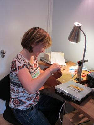 Scottish Jewellery Designer Helen Swan