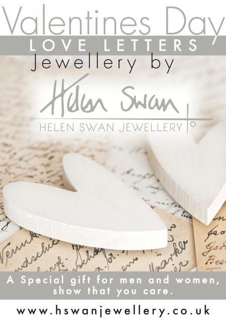 Love Letters jewellery by Helen Swan Designer Jewellery