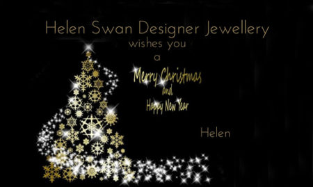 Merry Xmas from Helen Swan Designer Jewellery