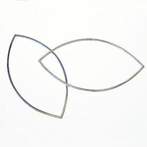 silver designer bangles.