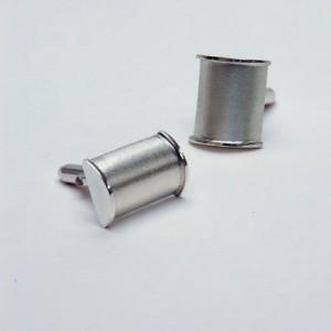 Contemporary Silver Designer-Cufflinks £89, Helen Swan, fine handmade jewellery Glasgow