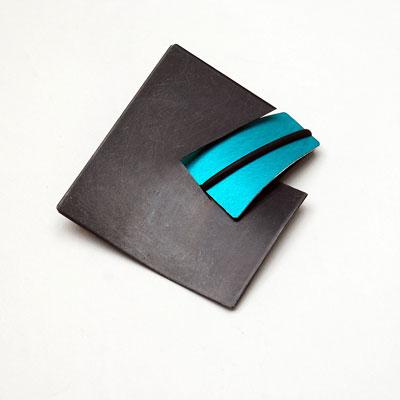 Designer Non- Precious Metal-brooch £30, Helen Swan, fine handmade jewellery Glasgow