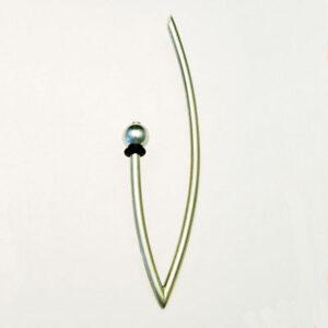 Designer Silver Brooch £95, Helen Swan, fine handmade jewellery Glasgow