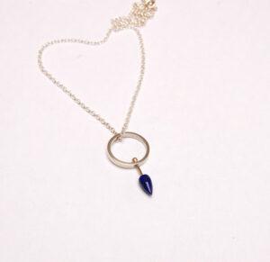 Designer Necklace, gold necklace , silver designer necklace. Scottish designer Helen Swan, Glasgow