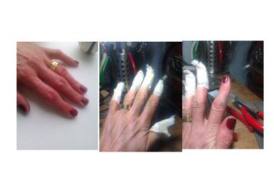 jewellery,Helen Swan,File and Polish,hands