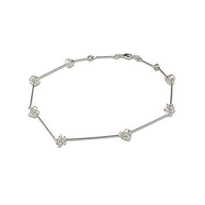 Contemporary Silver Necklace
