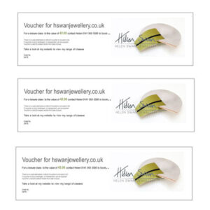 Jewellery Leisure Class Voucher