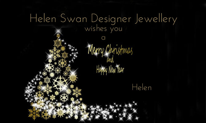 A  MERRY XMAS from Helen Swan Designer Jewellery