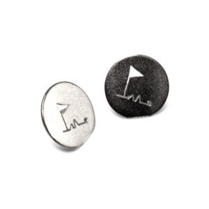 Golf Ball Marker A special unusual gift for the golfer you know, discs to mark where their golf ball lands  Have it personalised with the recipients initials, max of two per disc